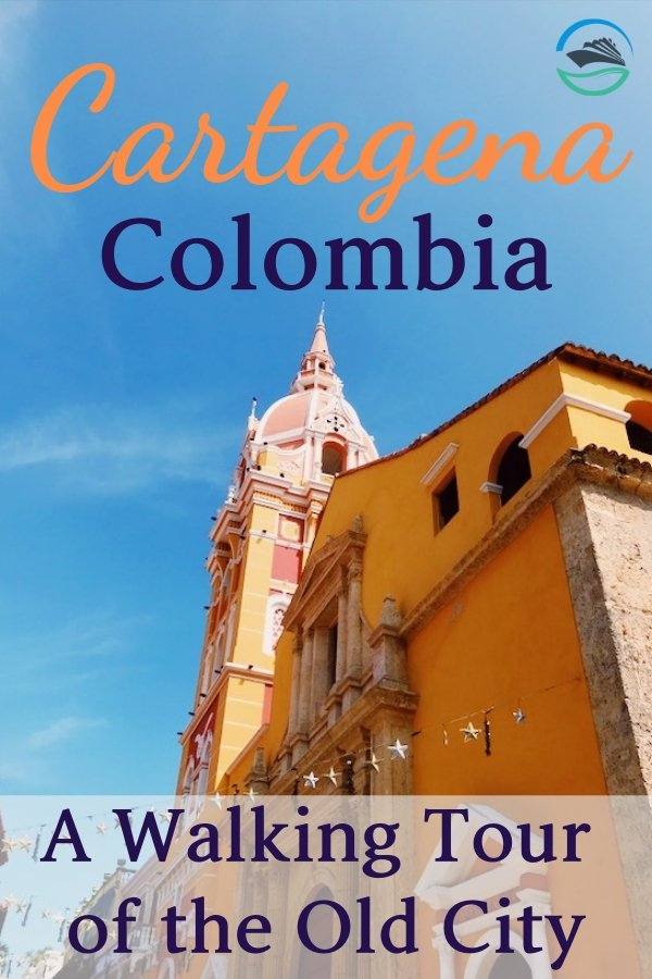 On our cruise of the Panama Canal, we stopped in the beautiful South American port of Cartagena, Colombia and took a walking tour of the Old City.