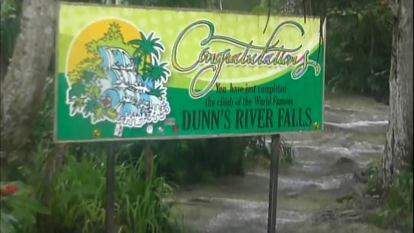 On our Panama Canal cruise we made an unscheduled stop in Jamaica. We got to climb Dunn's River Falls in Ocho Rios and visit the Bamboo Beach Club.