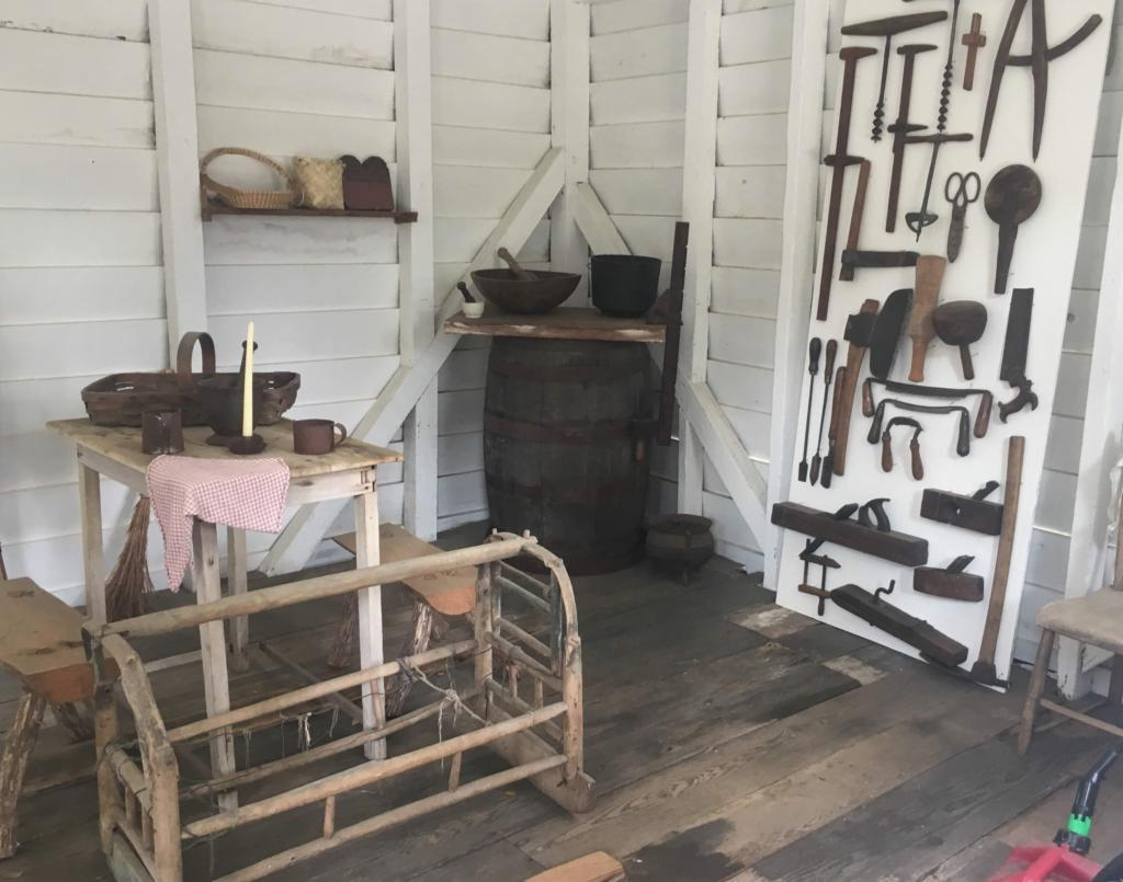Heyward House Slave Cabin Interior
