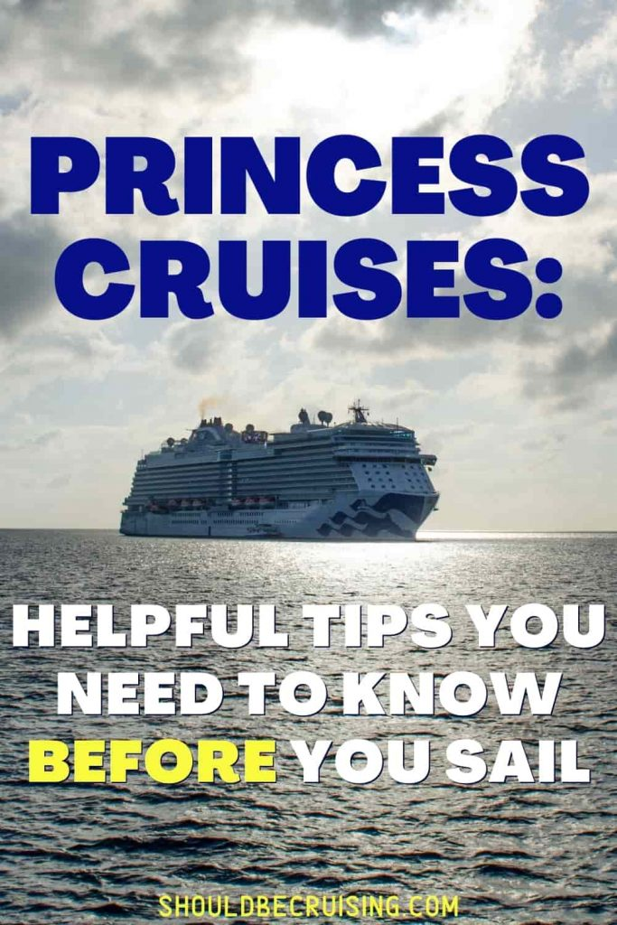 Princess Cruise Line Tips