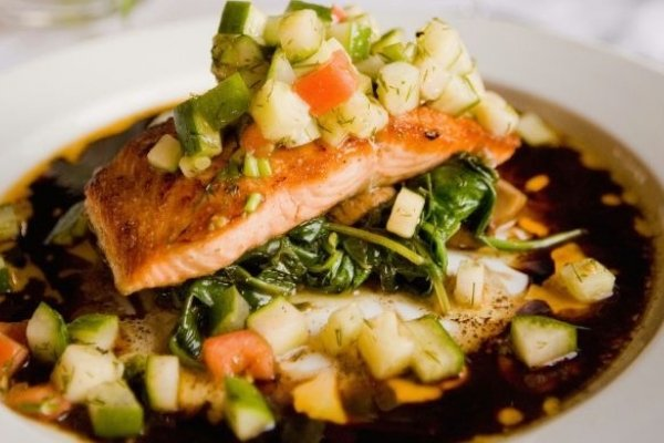 Salmon Dish - How to Save Money on Cruises