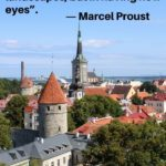"""""""The real voyage of discovery consists not in seeking new landscapes, but in having new eyes."""" - Marcel Proust"""