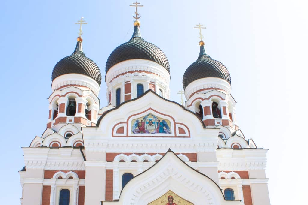 Things to Do in Tallinn Old Town in One Day: Alexander Nevsky Cathedral