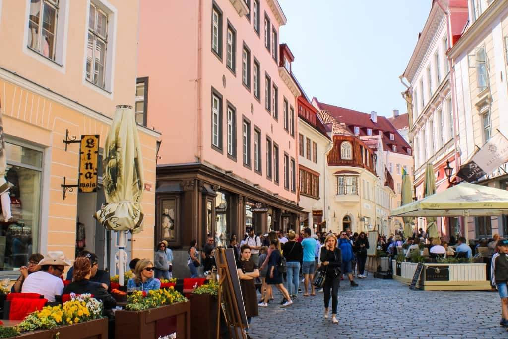 Things to Do in Tallinn Old Town in One Day: wander the cobblestone streets