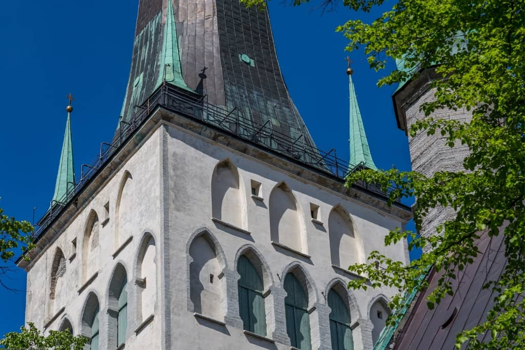 Things to Do in Tallinn Old Town in One Day: St. Olaf's Church