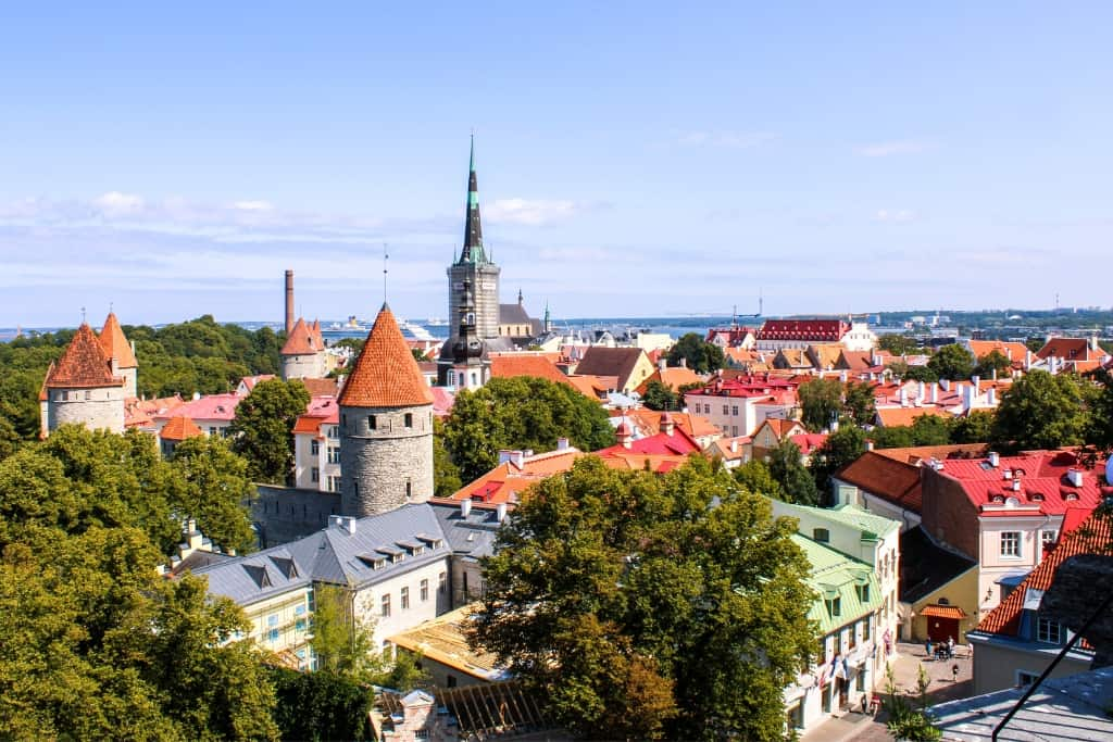 Things to Do in Tallinn Old Town in One Day: Patkuli viewing platform
