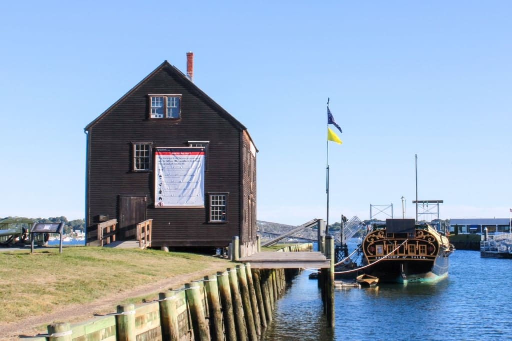 The ship Friendship at the Salem Maritime National Historic Site