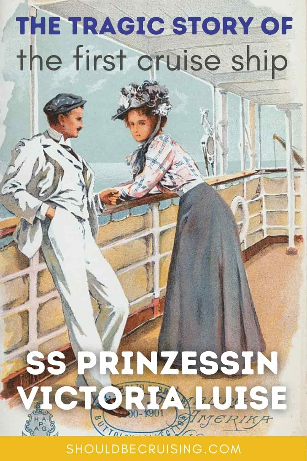The Story of the First Cruise Ship: SS Prinzessin Victoria Luise